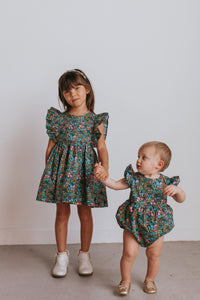 little girls matching sibling outfits
