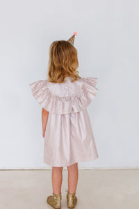 kids rose gold dress