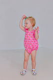 rainbow birthday party romper