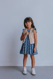 little girl's chambray denim dress
