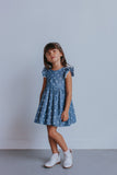 chambray star dress