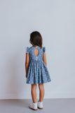 little girl's chambray star dress