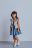 little girl's chambray dress
