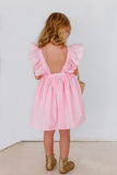 pink birthday party dress little kids