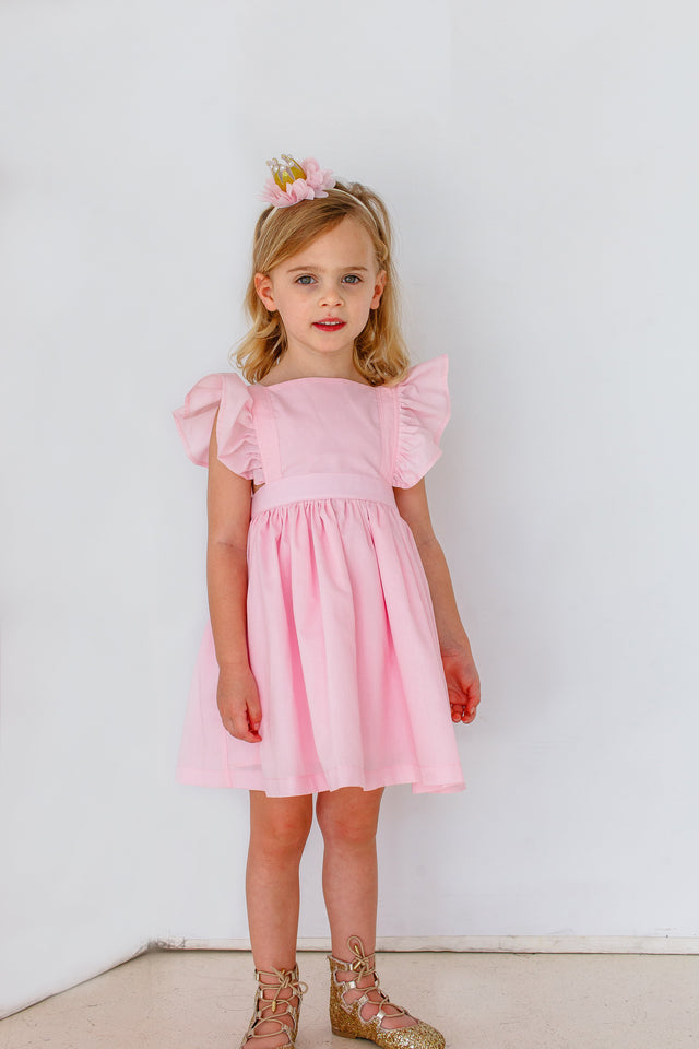 little girls vintage inspired party dress