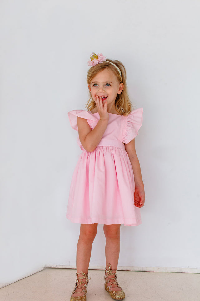kids vintage inspired dress