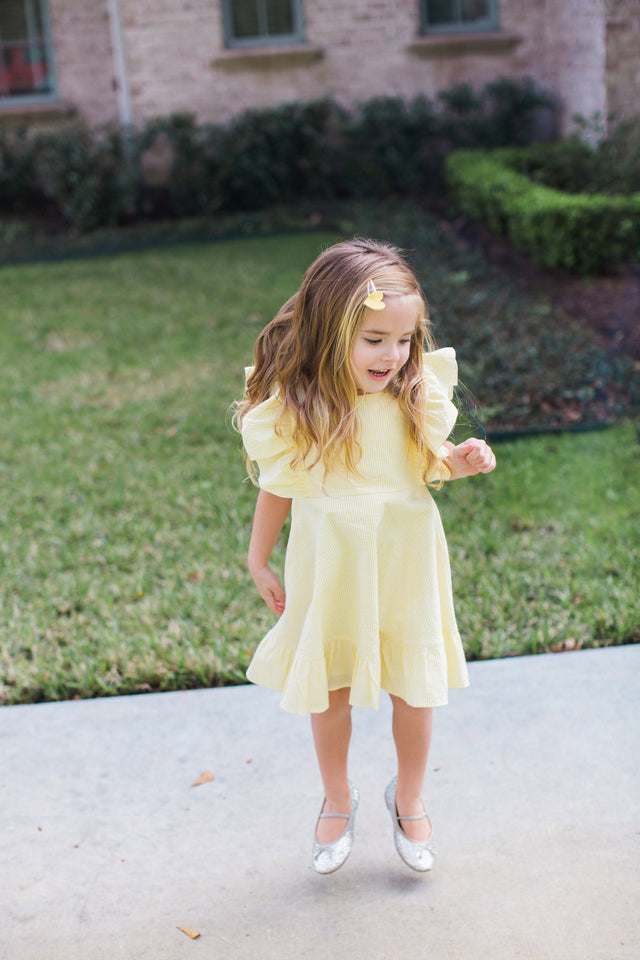 little girls spring dress