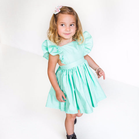 Avery Pinafore Dress