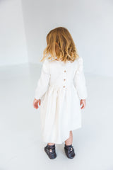 white dress toddler