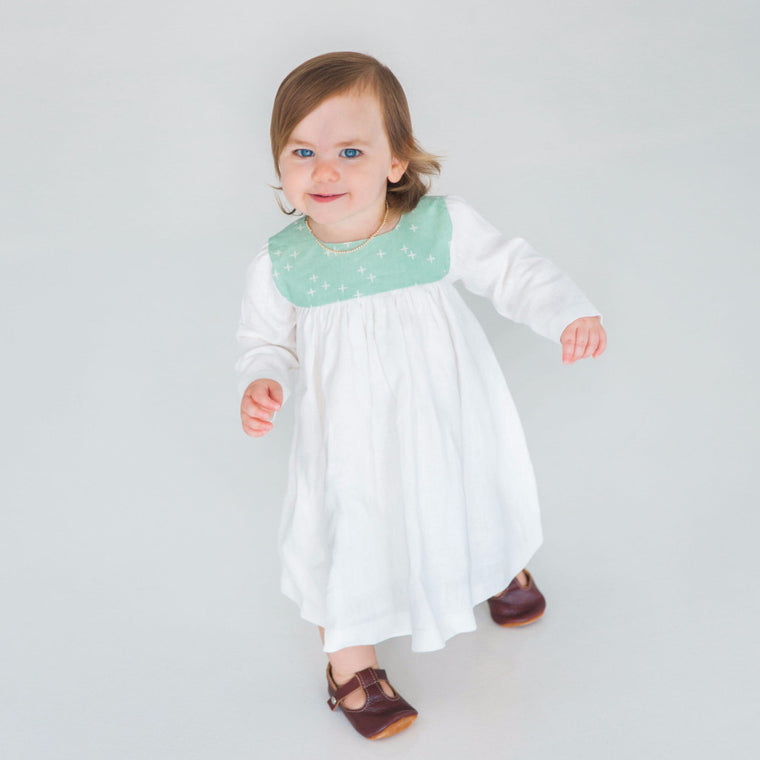 kids mint dress