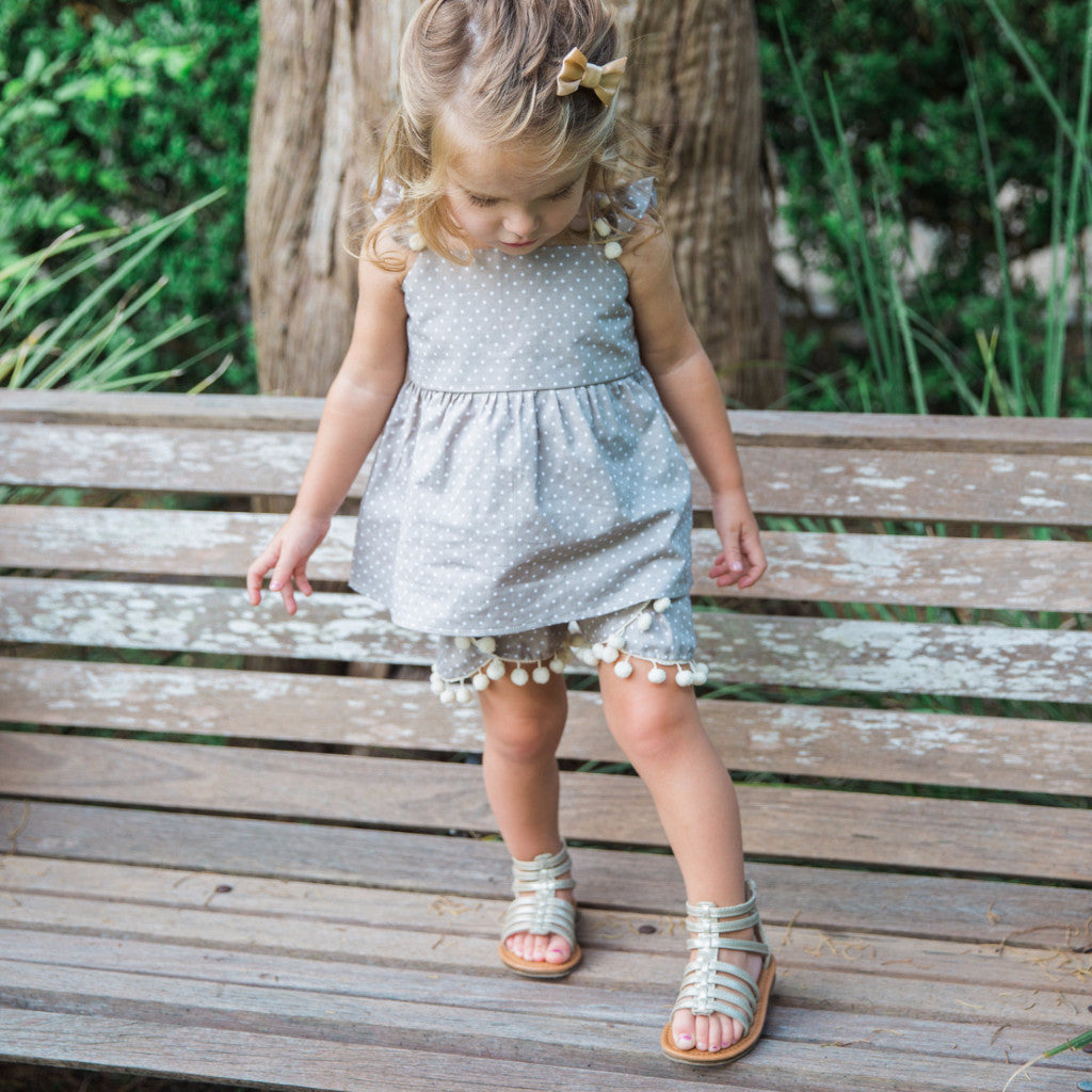 boho shorts for kids