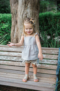toddler boho cute outfit