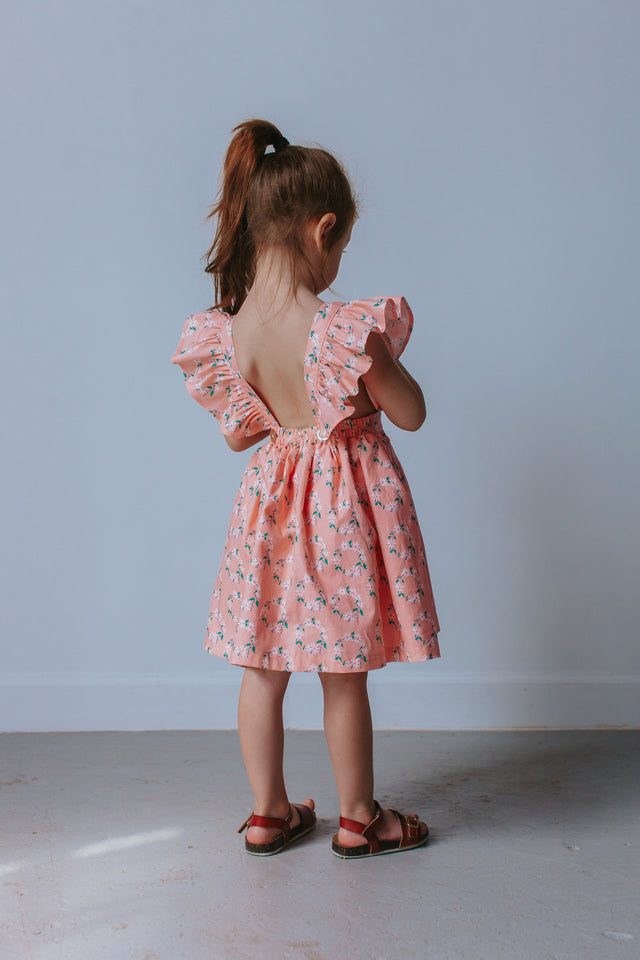 little girls pinafore dress