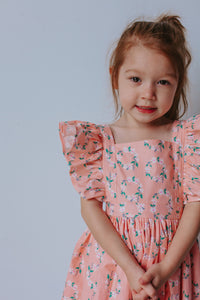 little girls vintage dress