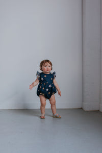 navy first birthday outfit