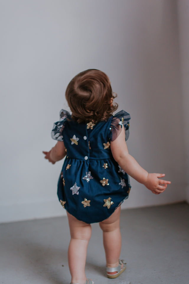 navy baby outfit