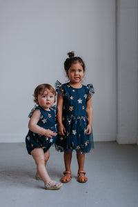 navy matching sister outfit