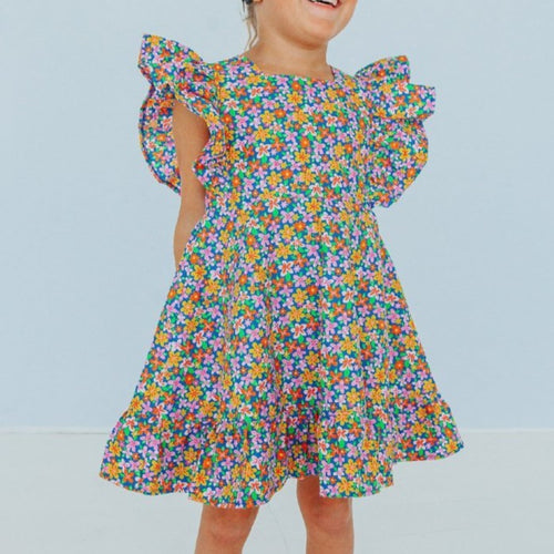 70's inspired dresses for little girls