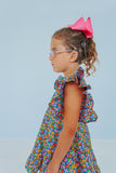 little girls floral party dress