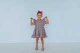70's inspired little girls dress