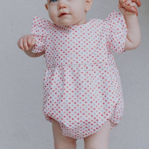 baby girls valentine's day outfit