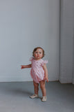 pink tulle romper baby