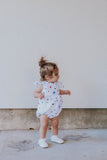 first birthday bubble romper