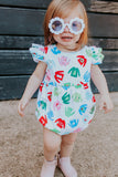 Little Girl's Retro Flower Sunglasses