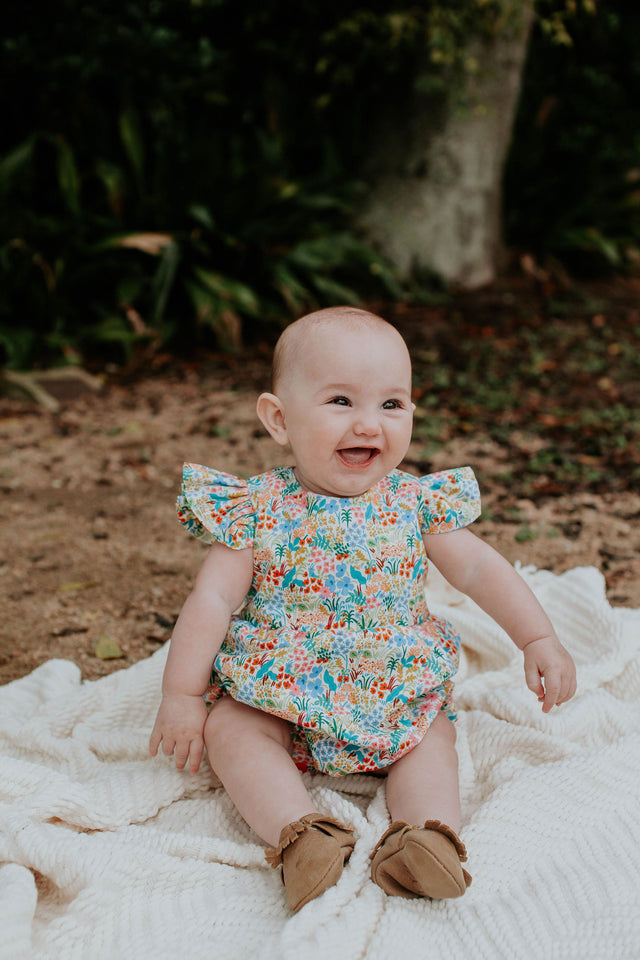 infant girls rifle paper co bubble romper