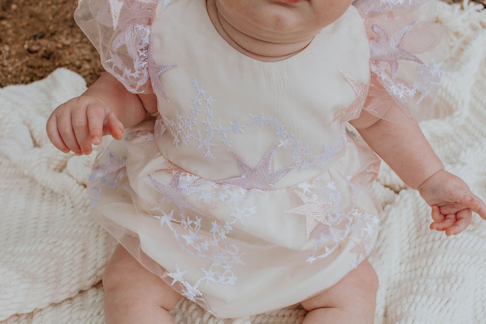 baby girl's cake smash outfit
