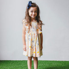 floral cotton dress toddler