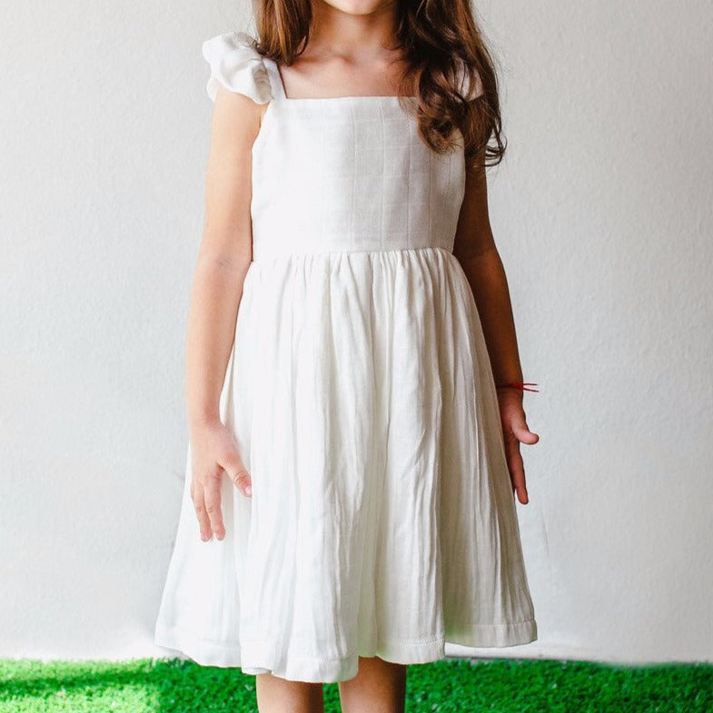 white dress for toddler