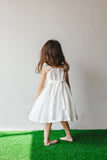simple white dress for little girl