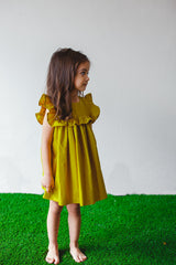 yellow dress toddler