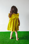 yellow dress for toddler