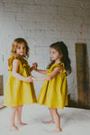 yellow dress for toddler girl