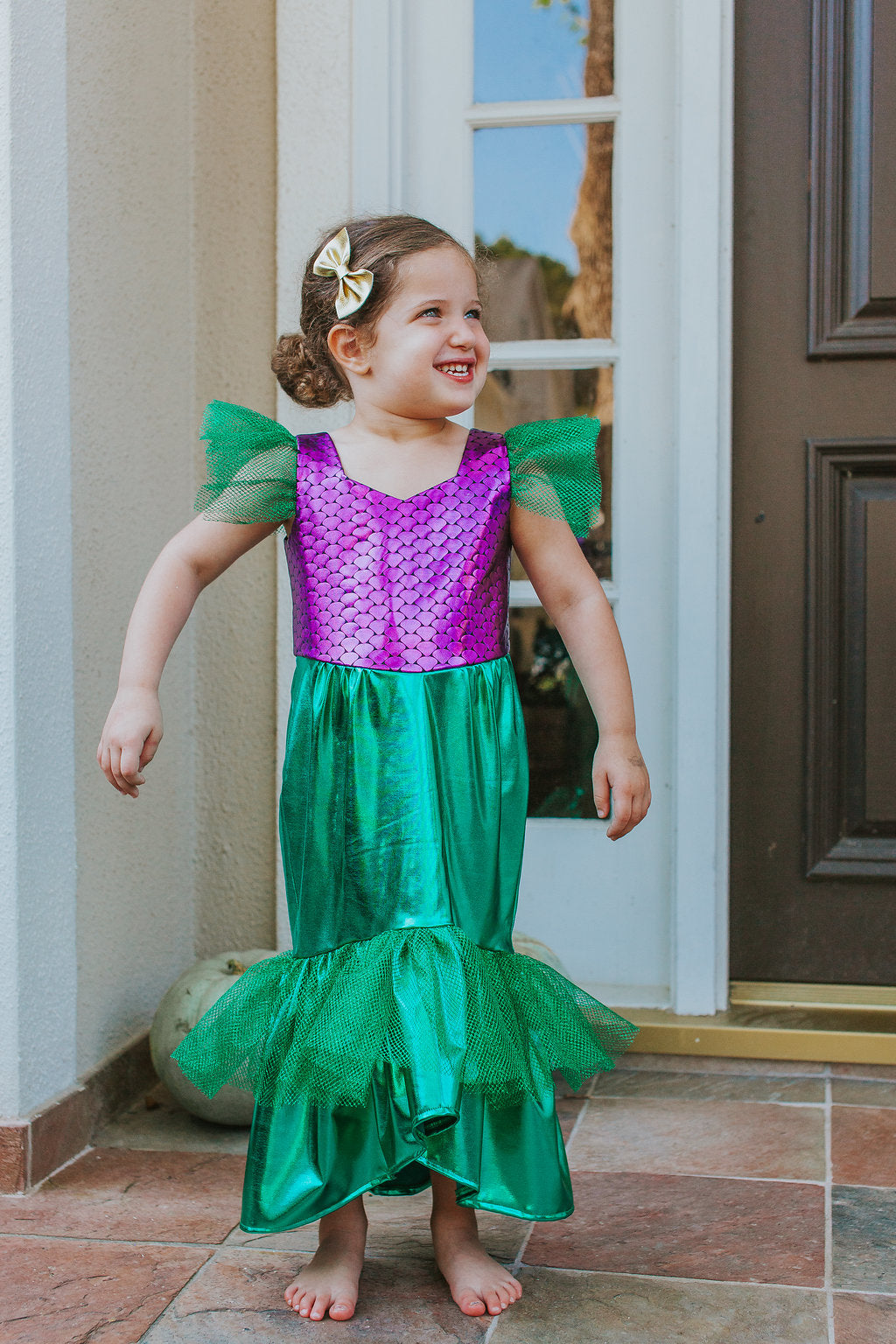 Ariel Little Mermaid Costume Party Dress – cuteheads