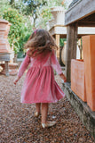 girls velvet special occasion dress