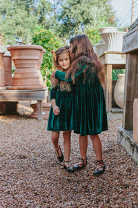 Girls Holiday Outfits for Sisters Matching