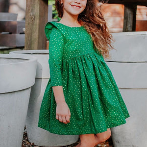 handmade holiday dress