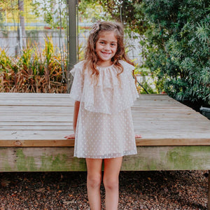 gold holiday dress kids