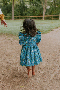 little girls rifle paper co floral dress