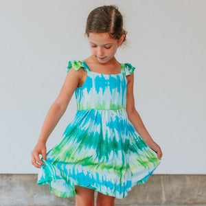 tie dye dresses for girls