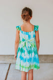 girls tie dye summer dresses