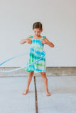girls tie dye dress