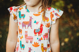 girls alpaca dress