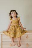 little girls vintage inspired dress