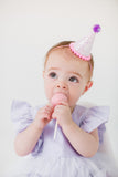 purple first birthday outfit