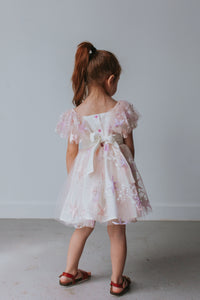 pink lace star dress