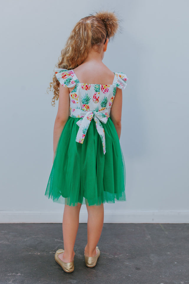 pineapple birthday party dress
